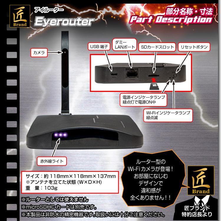 Wi-Fiトイデジカメラ(匠ブランド)「Eyerouter」(アイルーター)